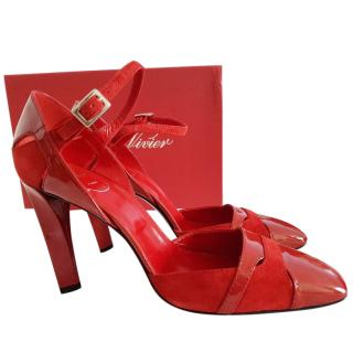 Red Shoes by Roger Vivier Mary Janes 8