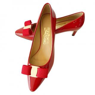Salvatore Red Leather shoes