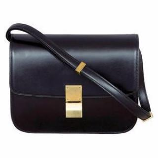 Celine Classic Black Box Bag