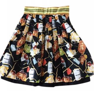 DVF patterned skirt