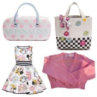 Mona Lisa Mickey And Minnie Dress/ Bag/ Cardigan/Bag