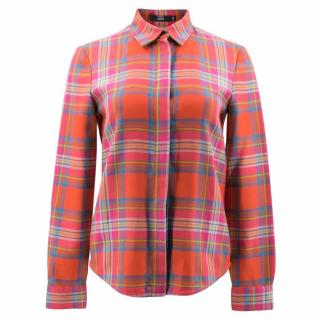 Markus Lupfer Checked Wool Shirt