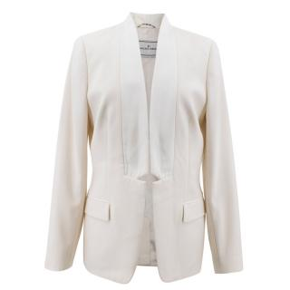By Malene Birger Cream Blazer Jacket
