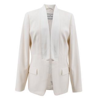 By Malene Birger Cream Blazer Jacket
