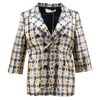 Marni Gold Pattern Jacket