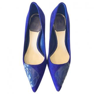 Dior Blue Pumps