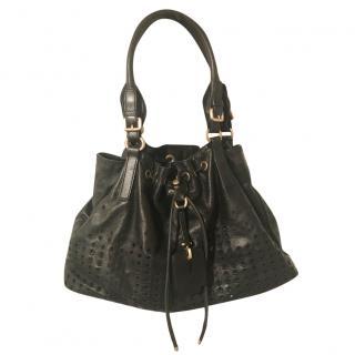 Hugo boss black shoulder tote bag
