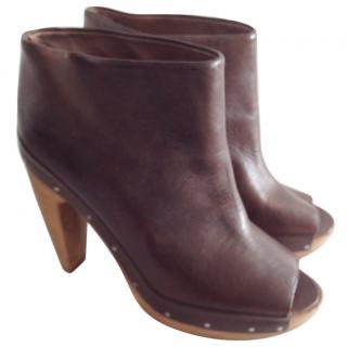 Marni Peep Toe Boots