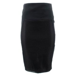 Antonio Berardi Black Net Skirt