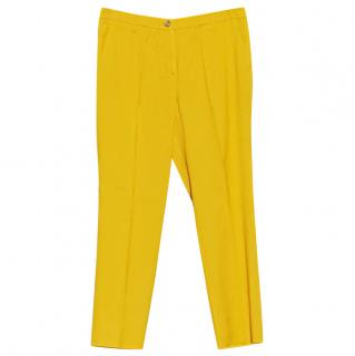 Emporio Armani Mustard Yellow Pants