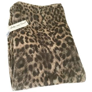 Lily&Lionel leopard scarf