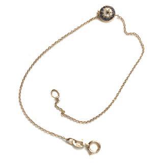 18k Gold Evil Eye Bracelet