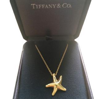 Tiffany & Co 18k Starfish Pendant