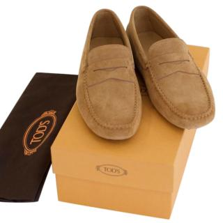 Tod's Gommino Driving Shoe (Camel)