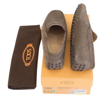 Tod's Gommino Driving Shoe (Lead)