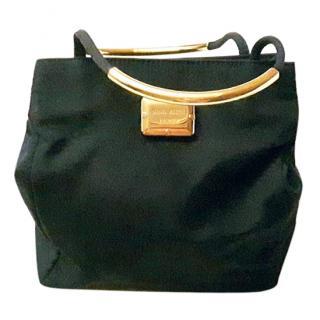 Nina Ricci dark blue satin evening bag