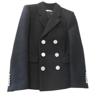 Saint Laurent black wool jacket