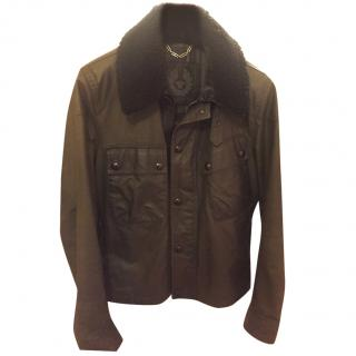Belstaff limited edition wax jacket with removable  fur collar