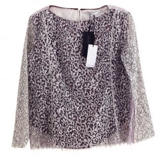 Carven Lace Top Size 40