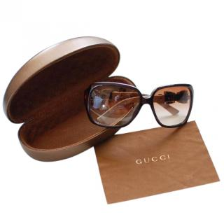 Gucci Bow Detail Sunglasses