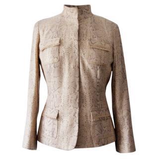 Elie Tahari fitted jacket