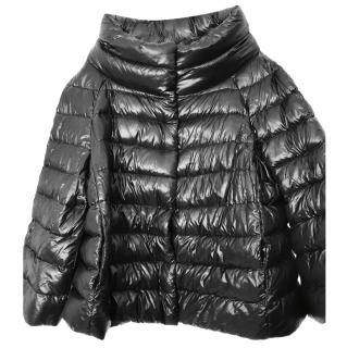 Herno Black Down Padded Jacket IT48 UK16