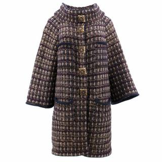 Chanel Wool and Cashmere Coat