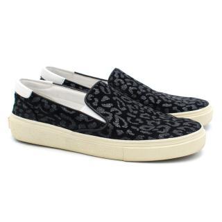 Saint Laurent Pattern Skate Shoes