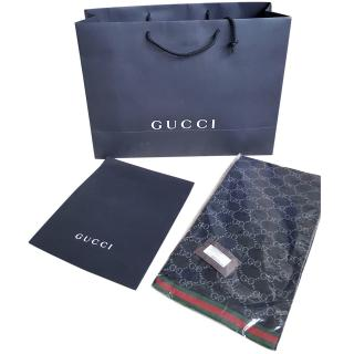 Gucci reversible monogrammed GG scarf