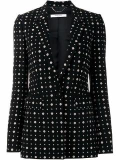 Givenchy Printed One-Button  Blazer