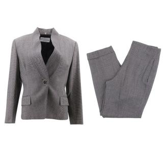 Gianfranco Ferre Birdseye Wool Suit