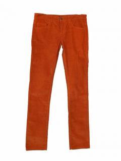 Joseph corduroy orange straight trousers