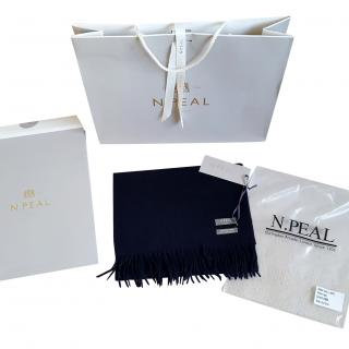 N.Peal cashmere scarf
