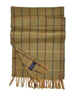 Burberry 100% Cashmere check scarf