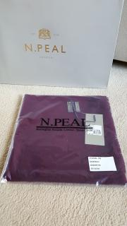 N.Peal mongolian cashmere scarf