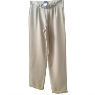 Giorgio Armani wide leg trousers