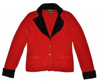 Ralph Lauren Women's red Cotton blazer