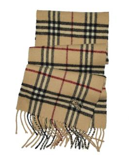 Burberry Wool Check Scarf