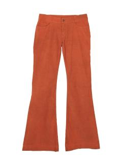 Joseph corduroy orange flared trouser