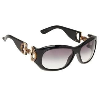 Gucci Black Bamboo Horsebit black  Sunglasses