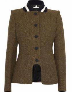 Stella Mccartney runway tweed coat jacket