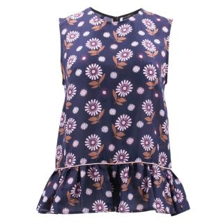 Markus Lupfer Flower Pattern Top
