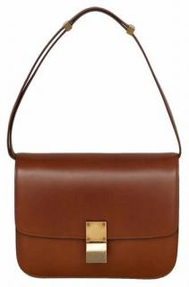 Celine Classic Brown Box Bag