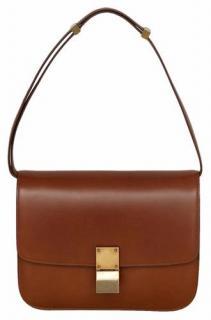 Celine Classic Brown Box Bag