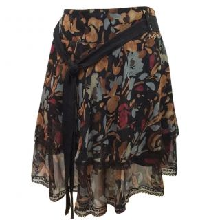 Liu Jo  silk skirt