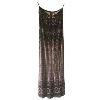 Roberto Cavalli strapless maxi dress