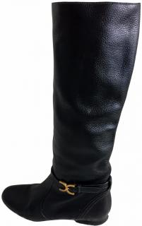 Chloe Leather Boots.