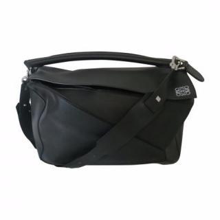 Loewe Large black Puzzle bag