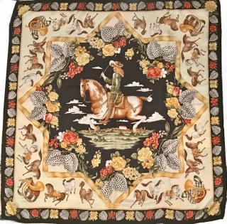Salvadore Feragamo 100% silk scarf