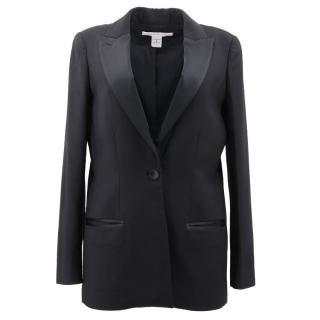 Diane Von Furstenberg Black Blazer Jacket